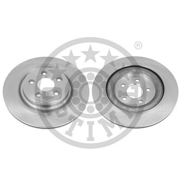 C2C25339-C2D26352- JAGUAR REAR BRAKE DISCS (PAIR)- COATED