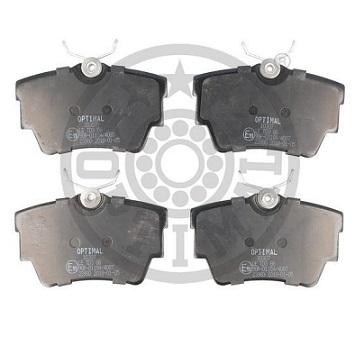 7701050918-7D0698451- RENAULT-VW REAR BRAKE PAD SET