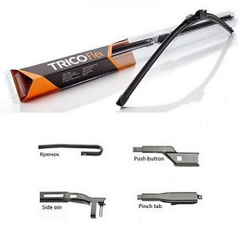 "FX350- TRICO FLEX 14"" WIPER BLADE (350MM)"